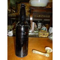 Fantastica Botella De Cerbeza Año 1958 !!!mirala!!!