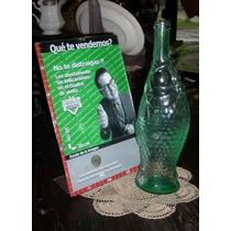 Antigua Botella Forma De Pez 30cm (4346)