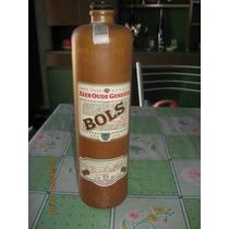 Botella U Bols...antigua Con Su Tapa Original