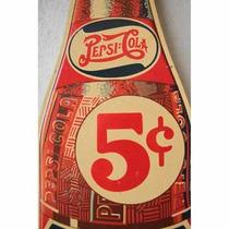 Publicidades Antiguas Chapa Gruesa 20x30cm Pepsi Cola Dr-035