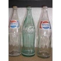 Esqueletos De Pepsi De 1 Lt Y Lt Y Medio Vacios Exc Estado.