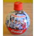 Lote 2 Botellas De Plastico Coca Cola Redondas Y Vacias