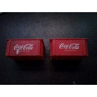 Par Cajoncitos Coca Cola Miniatura