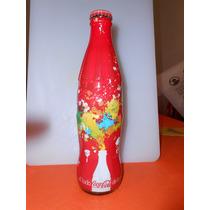 Botella El Lado Coca Cola De La Vida - Llena Año 2007