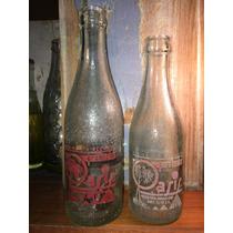 Antigua Botella De Gaseosa Oasis Por 2