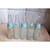Botellas De Vidrio Transparente De Gaseosa Marca Fanta