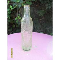 Antigua Botella Labrada Gaseosa Palandri Hermanos Y Cía