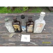 Lote Antiguas Botellas Frascos Farmacia Frontal Tónico Jarab
