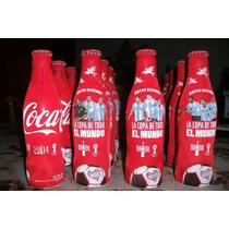 Botellas Coca Cola Llena Aluminio Mundial Brasil 2014 250cm3