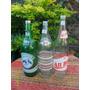 Lote De 3 Antiguas Botellas Soda Resorte C/tapa Z-5 All Bier