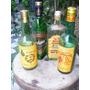 Antiguas Botellas Vacias Whisky Cognac Carlos V Domec