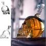 Botella Calavera 1000 Ml - Crystal Skill.