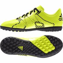 Botines De Fútbol Adidas X 15.4 Césped Artificial / Brand Sp