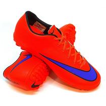 Botines Nike Modelo Papi Fútbol Mercurial Victory V Tf