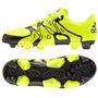Botines Adidas X 15.3 Fg-ag Solar Yelow Con Tapones