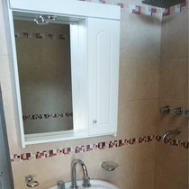 Botiquín Espejo Baño Peinador Laqueado Blanco Con Luz 60x70!