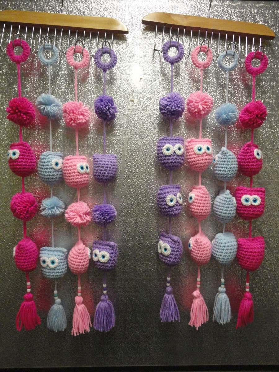 Buhos tejidos a crochet imagui - Tejidos de cortinas ...