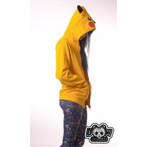 Campera De Pikachu. Pokemon Hoodie. Con Capucha. Dw Clothing