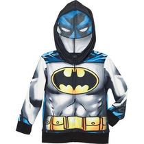 Buzos Batman Niños Con Capucha !!! Originales Dc Comics !!!