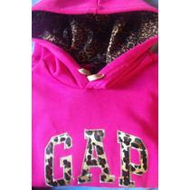 Buzos Jovenes Dama Gap - Vans Leopardo En Marca Y Capucha