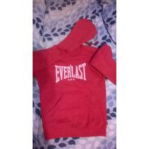 Vendo Buzo Everlast Niños T10 Rojo Impecable!