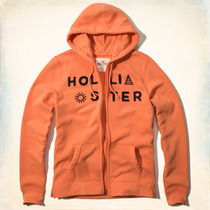 Buzo Hoodie Campera Hollister By Abercrombie And Fitch