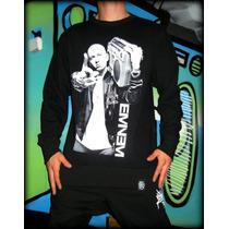 Buzo Cuello Redondo Eminem. Killa Hip Hop- Rap