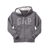 Camperita Logo Con Capucha Gap Original Importado Usa