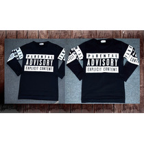 Buzo Parental Advisory Swag Hip Hop