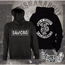 Buzos Canguro, Con Capucha, Sons Of Anarchy, Unicos!