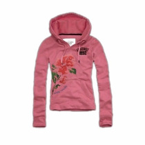 Abercrombie & Fitch - Hoodie Buzo De Mujer Talle S