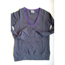 Buzo Deportivo Gris-violeta