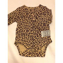 Body Carters Importado Usa Animal Print