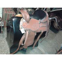 Montura Western Texana Para Caballo Cuarto De Milla Tambores