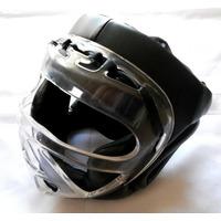 Cabezal Con Protector Facial Budokan Fighter Mask