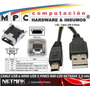 Cable Usb A Mini Usb 5 Pines Nm-c20 Netmak Celulares Tablets