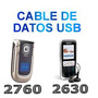 Cable Micro Usb Nokia 2760 2730 2630 1200 + Cd