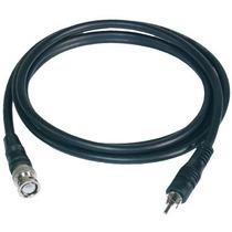 Cable Adaptador Coaxial Bnc Macho A Rca Macho 2 Metros 75ohm