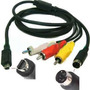 Cable Tv/av Audio Video Filmadoras Sony Vmc-15fs Dcr-sx60