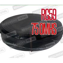 Rollo Cable Coaxil Rg59 100 Mts Cctv Catv Tv 75 Ohms