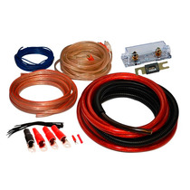Kit De Cables 4 Gauge. Kit Instalación De Potencias 4 Awg