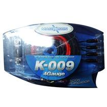Kit De Cables Magixson K009 4 Gauges Potencias Hasta 2500w