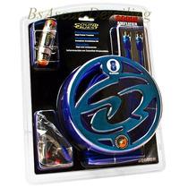 Kit De Cables Sound Quest 8 Awg Para Instalar Potencias