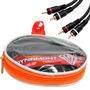Cable Rca 5 Metros Dynamont Para Potencias Woofers Pa Electr