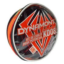 Kit De Cables Dynamont 100% Cobre! Instalación Potencias 8ga