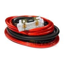 Kit De Cables 4 Gauge. Kit Instalación De Potencias 4 Awg
