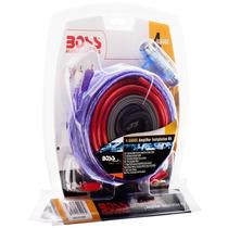 Kit De Cables Boss Kit 10 4 Gauges P/ Potencias Hasta 5000w