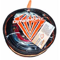 Kit De Cables Potencia Dyamont Kd 08 2000watts Tecnomixmerlo