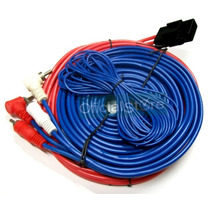 Kit De Cables Economico Potencias Para Auto O Moto Completo!
