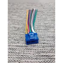 Ficha Conexion Stereo Pioneer Dvd Azul-ind Dash.